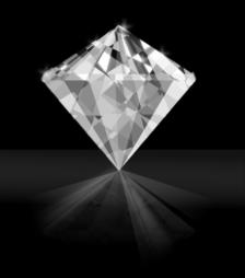 3月29日の誕生石マーキース・カットのダイヤモンド